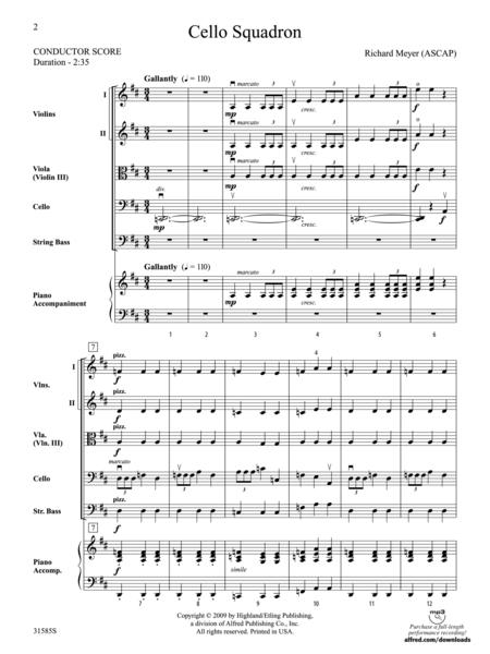 Cello Squadron (score only)