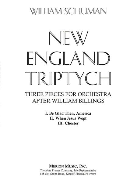 New England Triptych