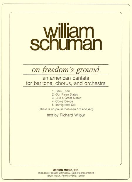 On Freedom's Ground