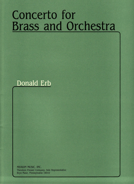 Concerto For Brass And Orchestra