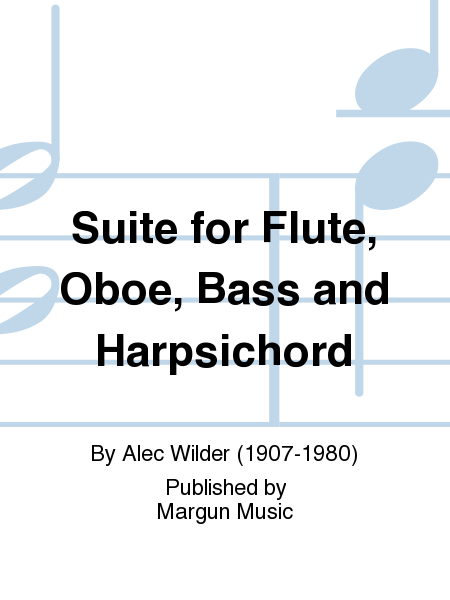 Suite for Flute, Oboe, Bass and Harpsichord