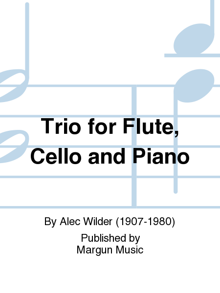 Trio for Flute, Cello and Piano