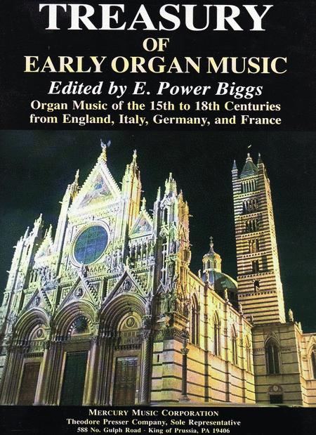 Treasury Of Early Organ Music