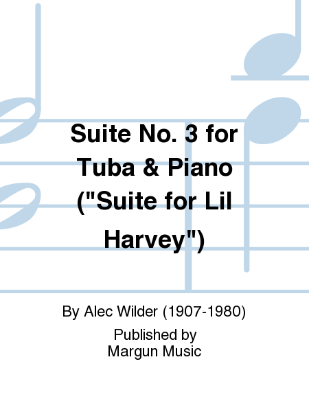 Suite No. 3 for Tuba & Piano (