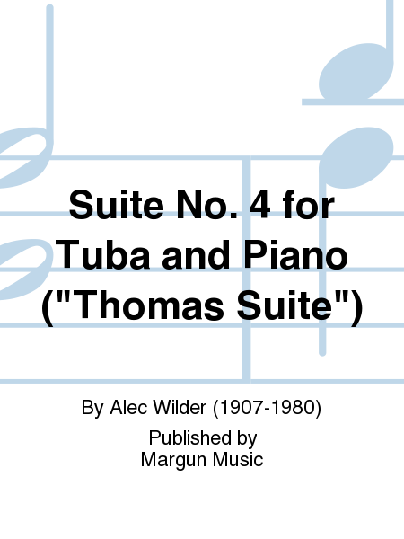 Suite No. 4 for Tuba and Piano (