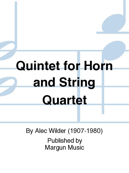 Quintet for Horn and String Quartet