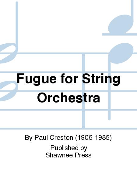 Fugue for String Orchestra