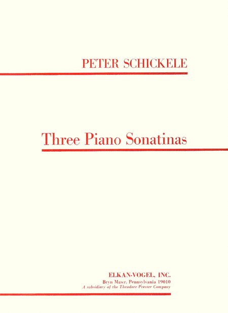 Three Piano Sonatinas