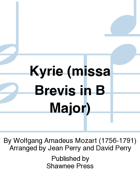 Kyrie (missa Brevis in B Major)