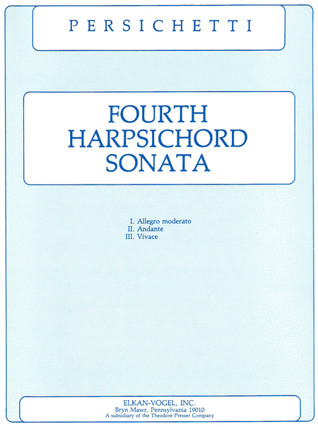 Fourth Harpsichord Sonata