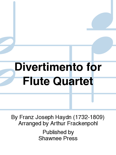 Divertimento for Flute Quartet