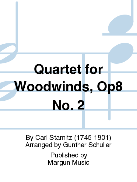 Quartet for Woodwinds, Op8 No. 2