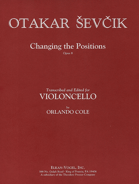 Changing the Positions, Op. 8
