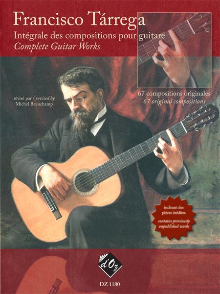 Integrale des compositions pour guitare
