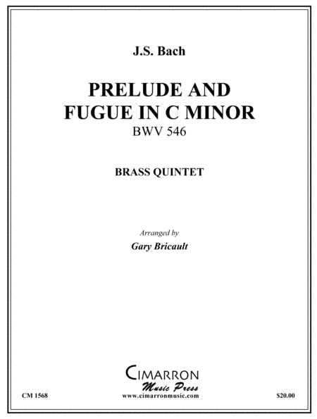 Prelude and Fugue in c minor, BWV 546