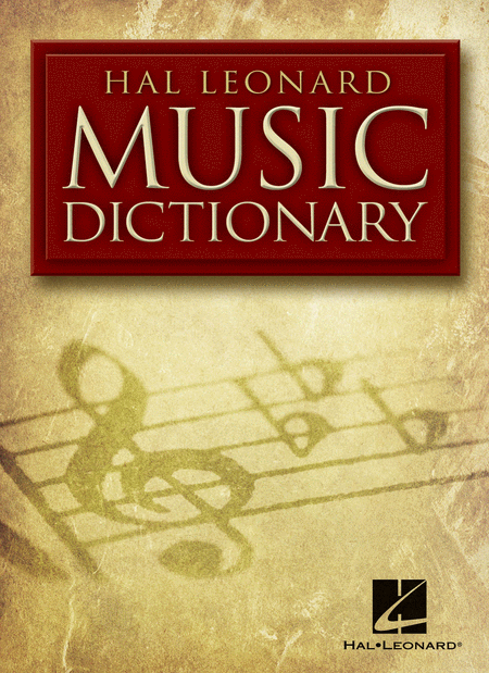 Hal Leonard Pocket Music Dictionary Softcover Personalized Only