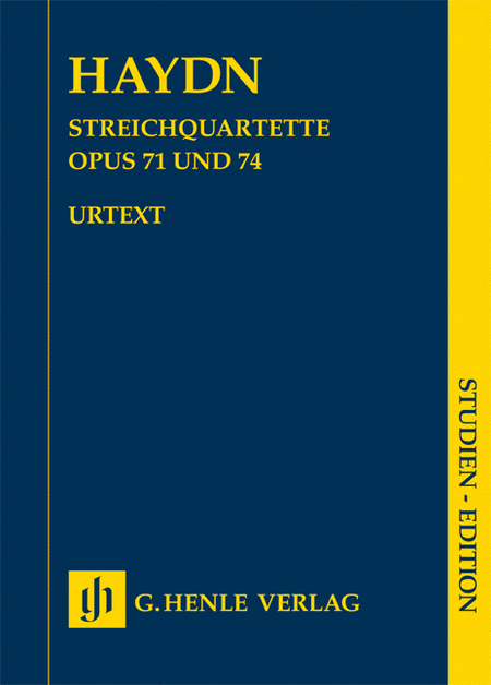 String Quartets, Vol. IX, Opus 71 and 74 (Apponyi-Quartets)