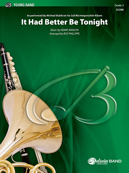 It Had Better Be Tonight (Meglio Stasera) (score only)