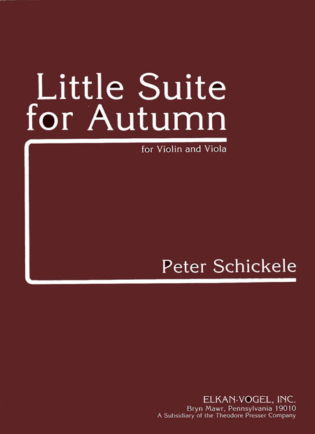 Little Suite for Autumn