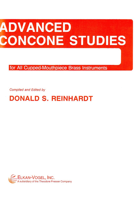 Advanced Concone Studies