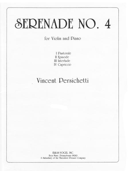 Serenade No. 4