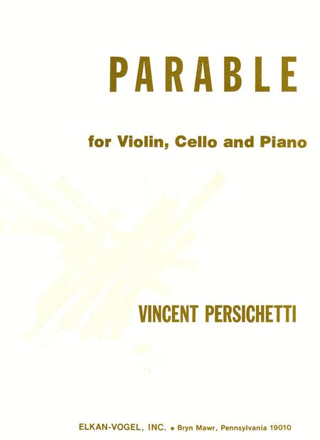 Parable for Violin, Cello and Piano