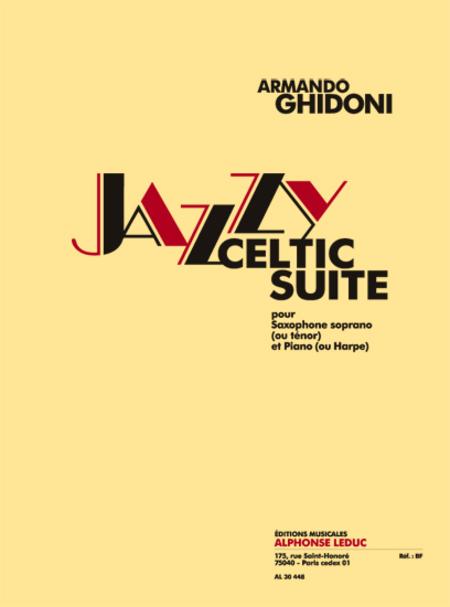 Jazzy-Celtic Suite - Saxophone Sib et Piano ou Harpe