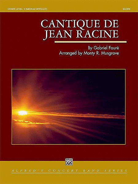 Cantique de Jean Racine (score only)