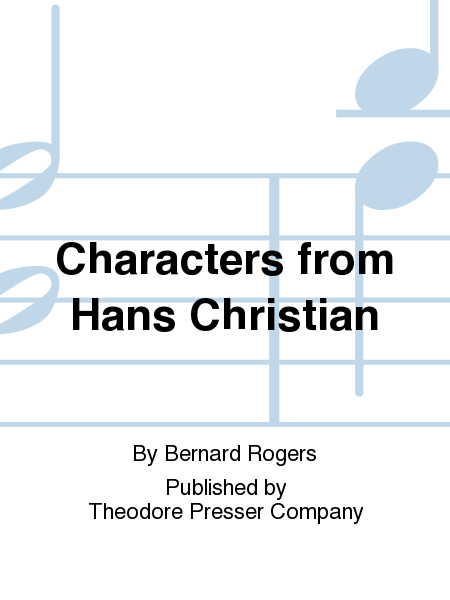 Characters from Hans Christian
