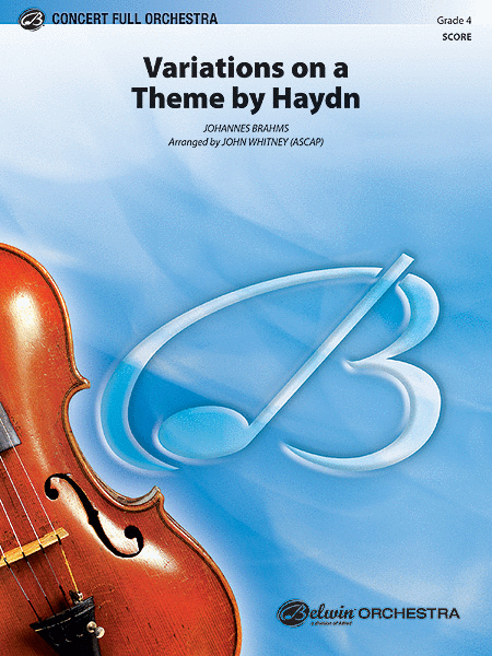 Variations on a Theme by Haydn (score only)
