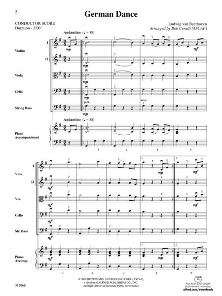 German Dance (score only)