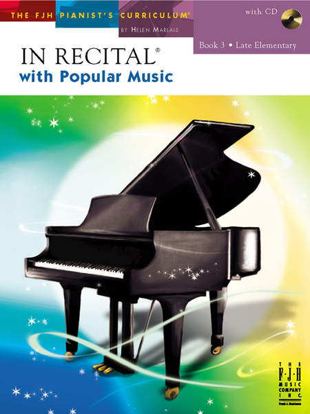 In Recital! with Popular Music, Book 3