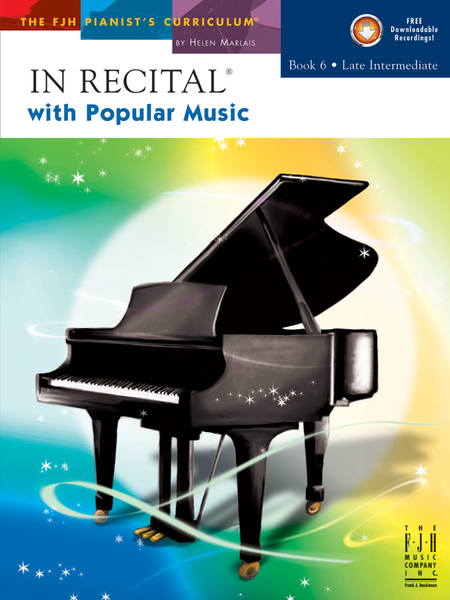 In Recital with Popular Music, Book 6