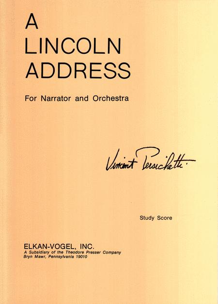 A Lincoln Address