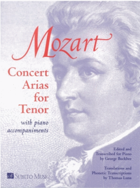 Concert Arias for Tenor