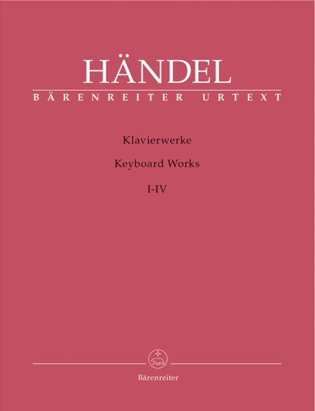 Works for Piano, Volumes 1-4