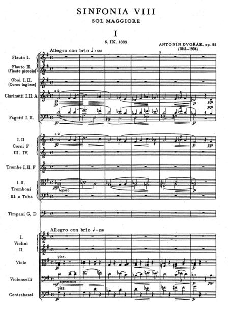 Symphony No. 8 G major op. 88