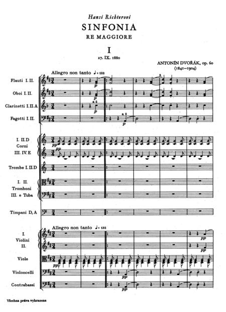 Symphony No. 6 D major op. 60