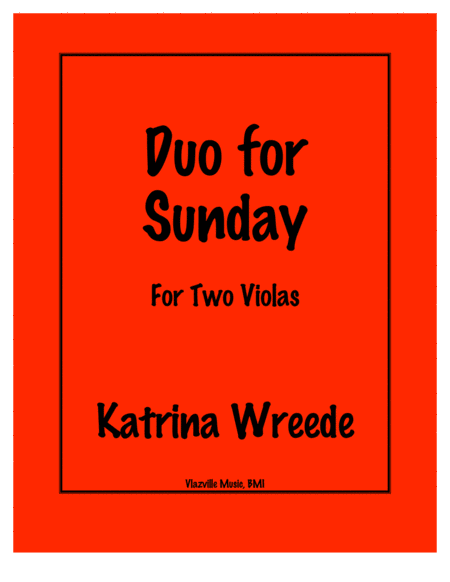 Duo for Sunday