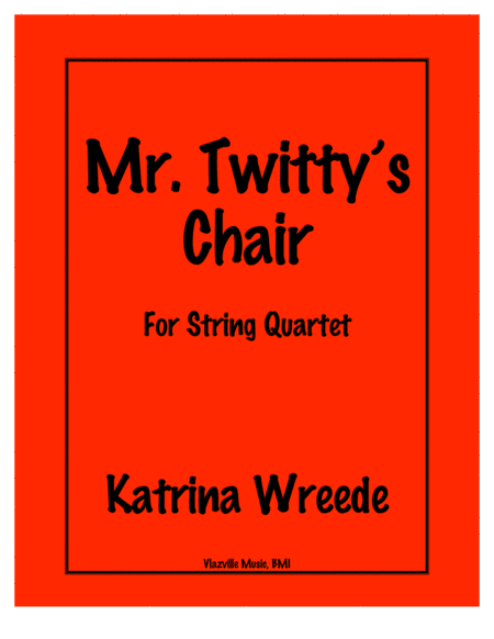 Mr. Twitty's Chair