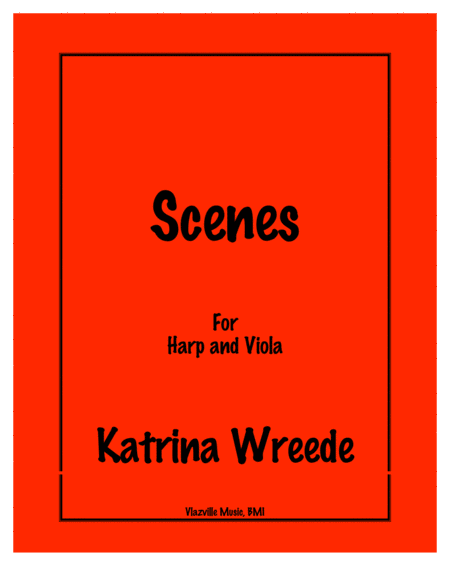 Scenes for Harp and Viola