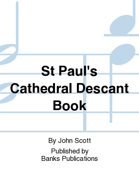 St Paul's Cathedral Descant Book