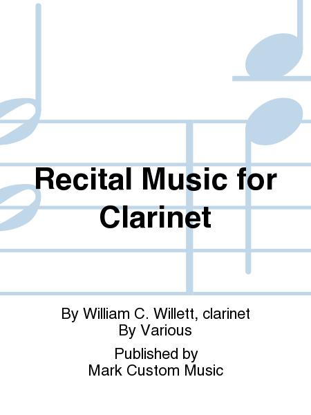 Recital Music for Clarinet