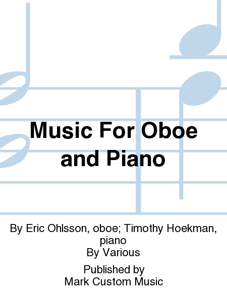 Music For Oboe and Piano