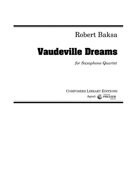 Vaudeville Dreams