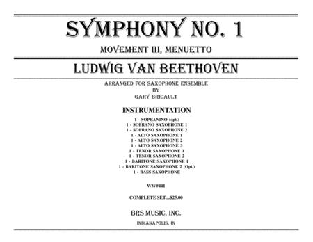 Symphony No. 1, Menuetto