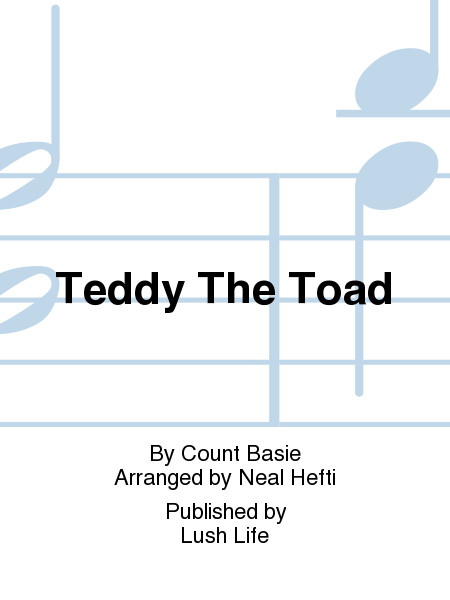 Teddy The Toad
