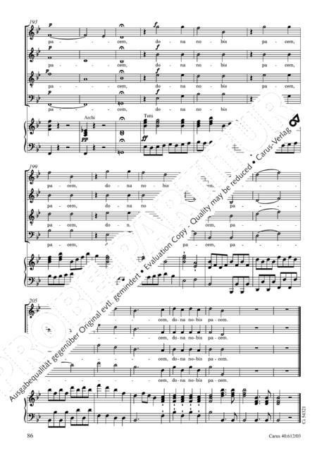 Harmoniemesse in B