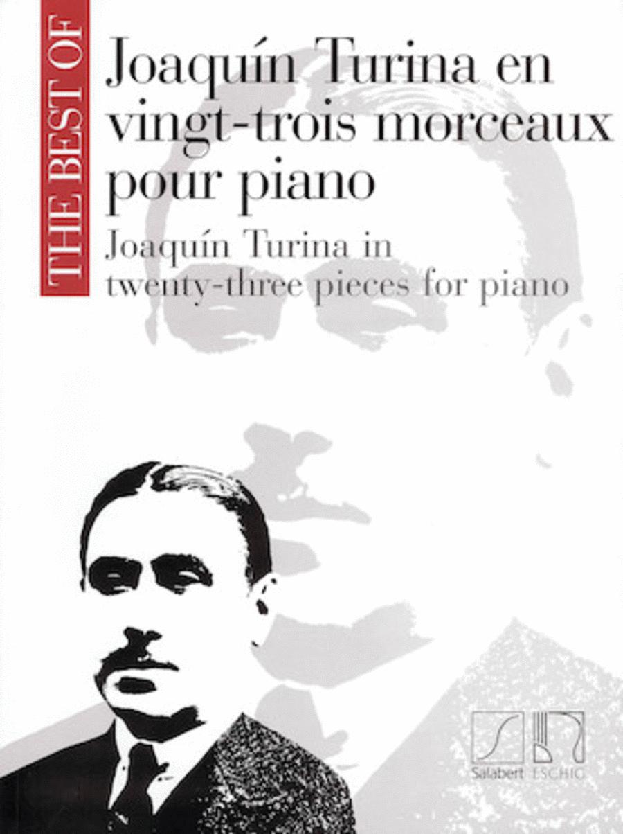 Joaquin Turina In 23 (twenty-three) Pieces For Piano
