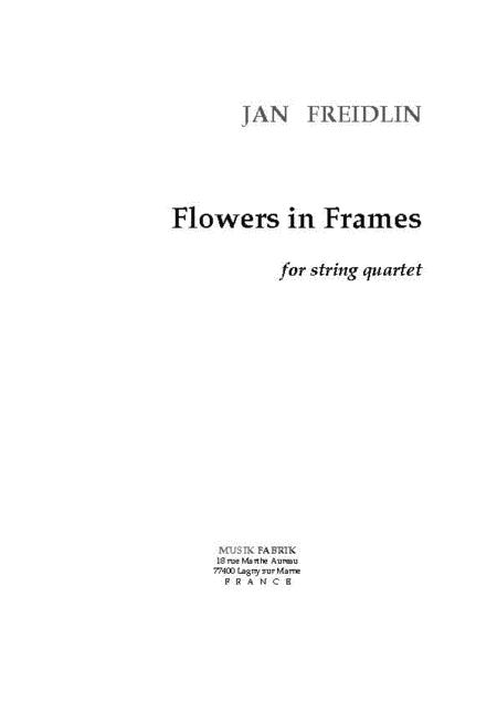 Flowers in Frames